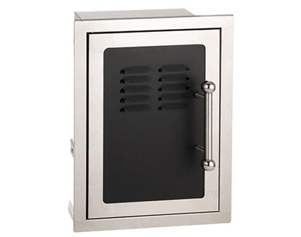 Fire Magic Black Diamond Double Door w/ Tank Tray and Louvers