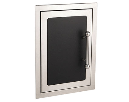 fire magic black diamond single door