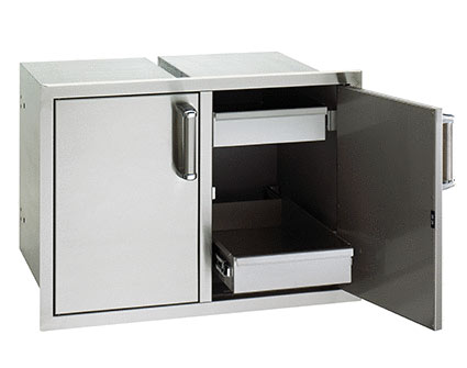 fire magic Double Drawer with 2 Dual Drawer