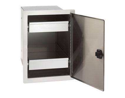 fire magic Single Door with Dual Drawers