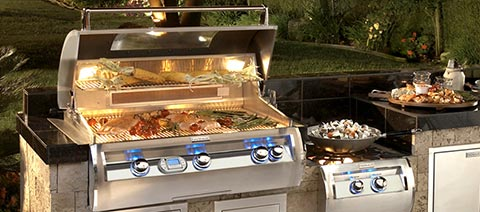 fire magic echelon diamond built in outdoor grill